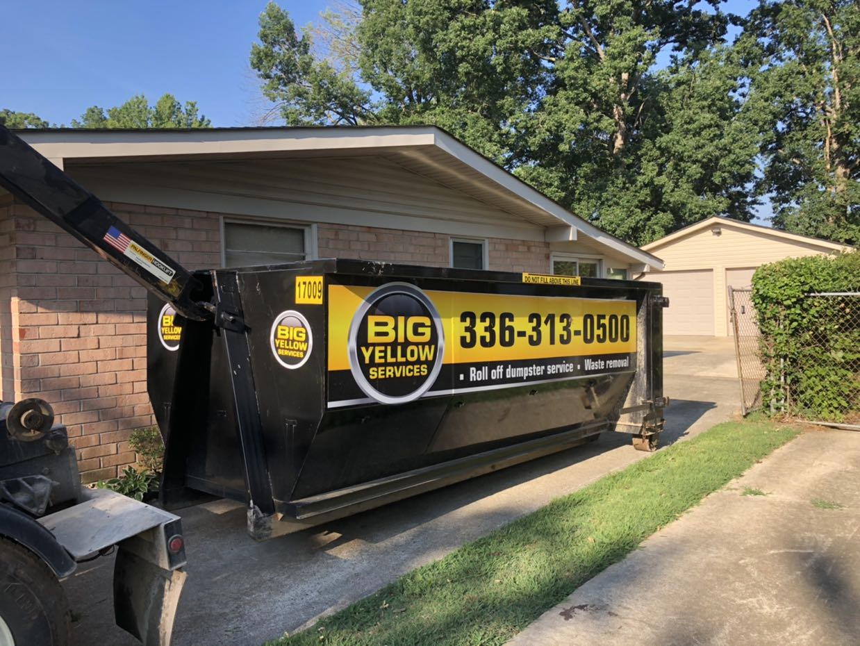 Dumpster Rentals Near Me in Greensboro NC  7-15-2020 Dumpster Rentals in Greensboro, NC  | Roll-Off Dumpster Rentals | Big Yellow Services